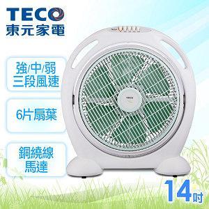 TECO東元【14吋】機械式箱扇 XA1449AA