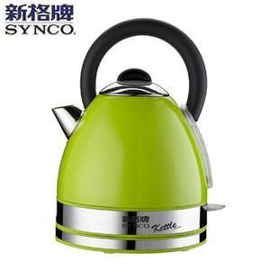 SYNCO新格【1.7L】英式時尚不鏽鋼快煮壺 SEK-1735ST