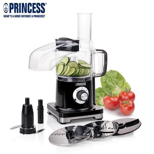 【PRINCESS】荷蘭公主 迷你食物調理機 220500~做醬料、切丁、切塊、切絲、切片
