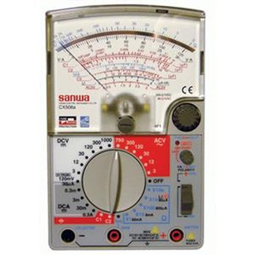 SANWA 日製高感度電錶 CX-506a