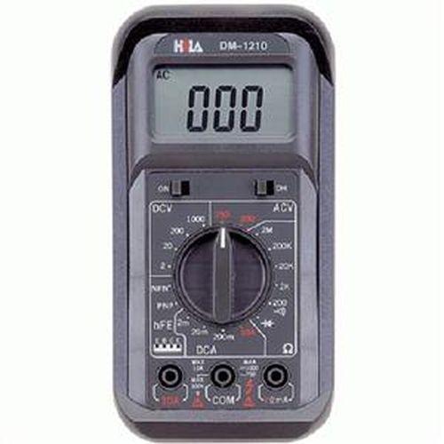 HILA 經濟型數字三用電錶 DM-1210