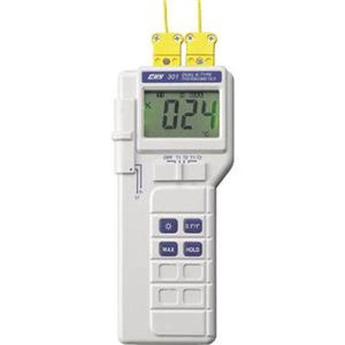 CHY K型雙輸入溫度計 CHY-301