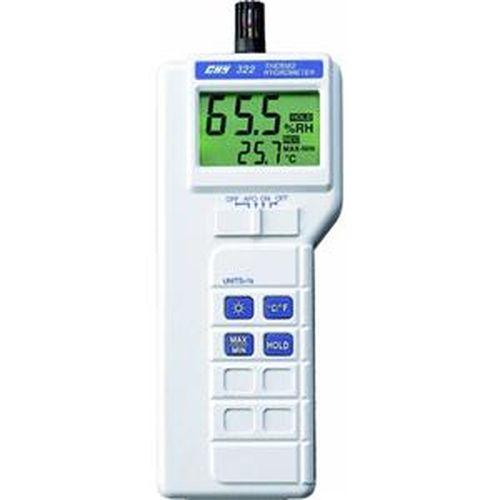 CHY 數位式溫度/濕度/濕球/露點量測計 CHY-322