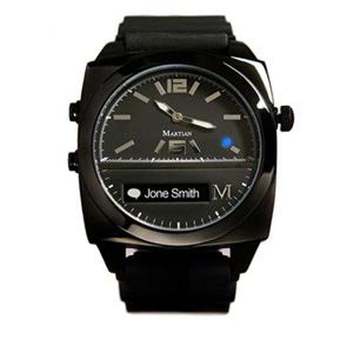 【限時搶購】Martian摩絢手錶Victory系列 黑色錶殼 x 黑色矽膠錶帶