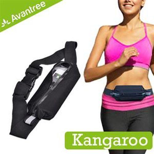 【限時搶購】AvantreeKangaroo運動型防潑水彈性腰包