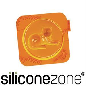 【Siliconezone】施理康耐熱老虎造型小蛋糕模