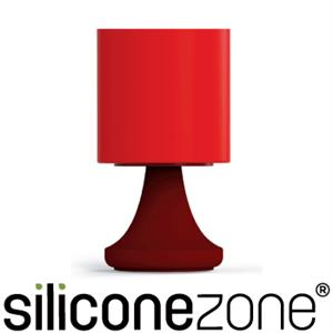 【Siliconezone】施理康矽膠創意小檯燈鹽罐/胡椒罐-咖啡紅