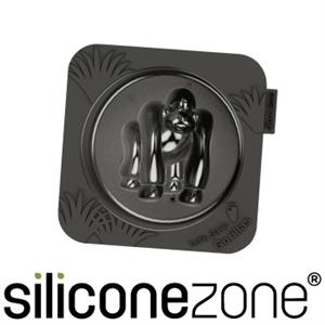 【Siliconezone】施理康耐熱黑猩猩造型小蛋糕模