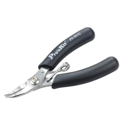 Pro'sKit 寶工 1PK-501C 不銹鋼掌心無牙彎嘴鉗