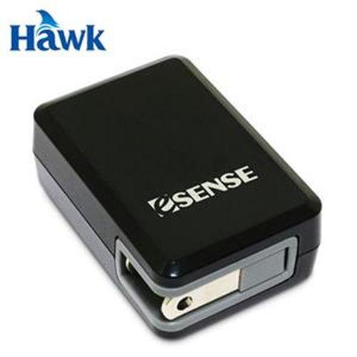 HAWK逸盛 Esense  2.1A 雙 USB 電源供應器 黑