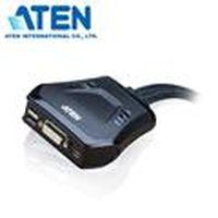ATEN 宏正 CS22D 2埠DVI/USB帶線式KVM 多電腦切換器