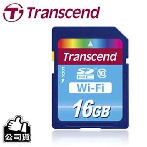 TRANSCEND 創見 Wi-Fi SDHC 16G Class10 記憶卡