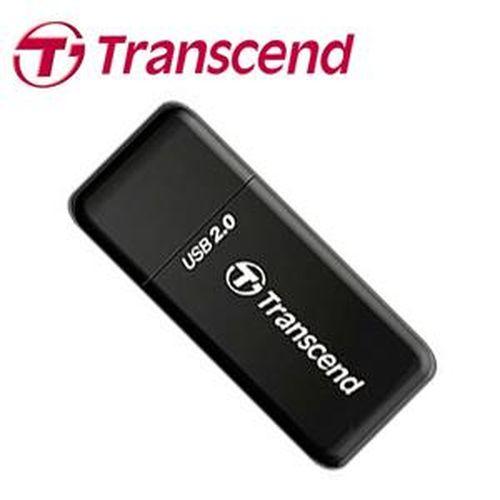 TRANSCEND創見 P5 小型讀卡機 黑