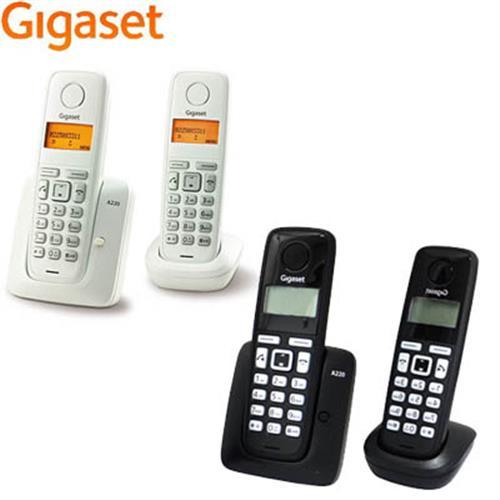 德國Giga數位子母型無線電話機 A220DUO ~德國原裝