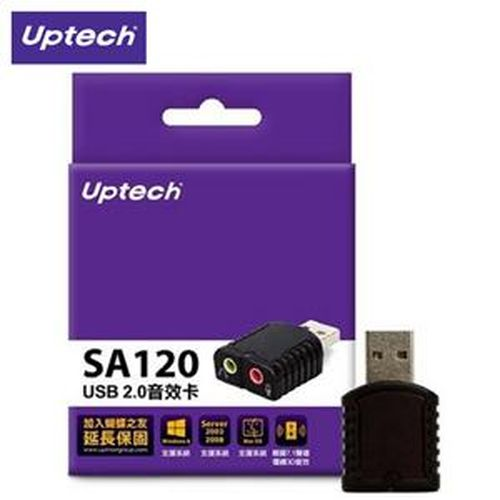 Uptech 登昌恆 SA120 USB 2.0音效卡