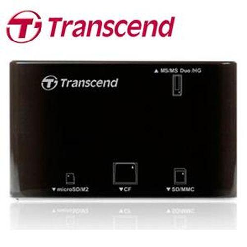 TRANSCEND創見 P8 多合一讀卡機 黑
