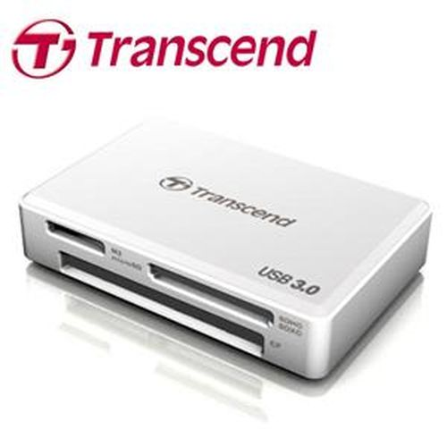 TRANSCEND創見 F8 多合一讀卡機 白