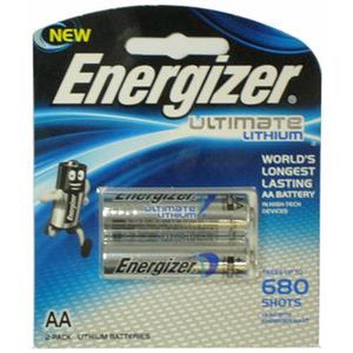 ENERGIZER勁量 鋰電池3號 2入