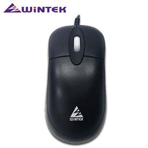 WiNTEK 文鎧 飛狐PS2光學滑鼠 黑色