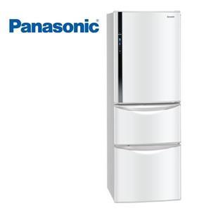 Panasonic 國際 NR-C387HV(W) 變頻三門冰箱(385L) (瑭瓷白)