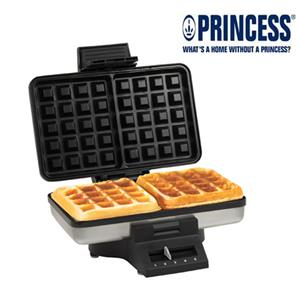 【PRINCESS】荷蘭公主 二片方形鬆餅機 132392