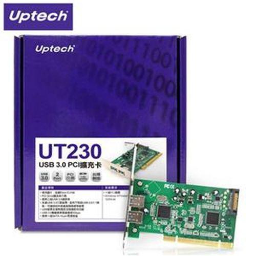 Uptech 登昌恆 UT230 USB 3.0 PCI擴充卡