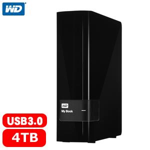 【網購獨享優惠】WD My Book 3.5吋 4TB USB3.0 外接硬碟