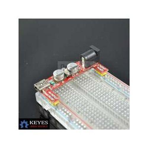 KTDUINO 2路 5V/3.3V 麵包板專用電源模組