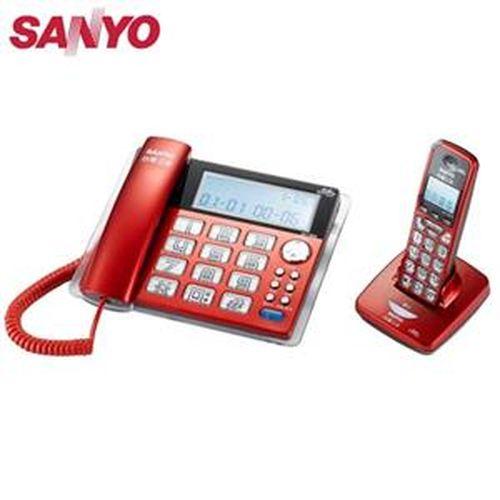 SANYO 三洋 DCT-8909 2.4G數位無線親子機 紅