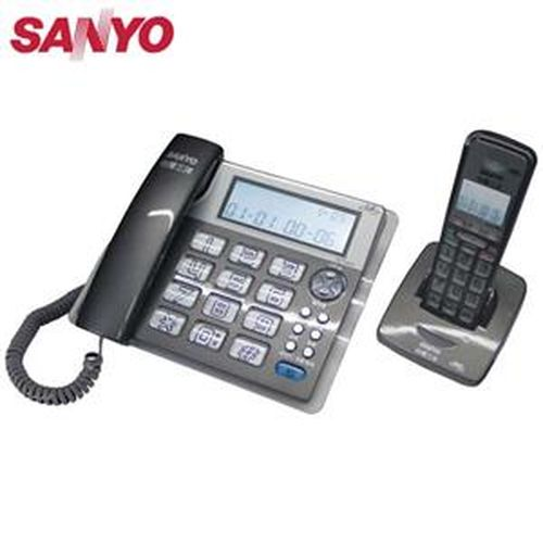 SANYO 三洋 DCT-8909 2.4G數位無線親子機 灰
