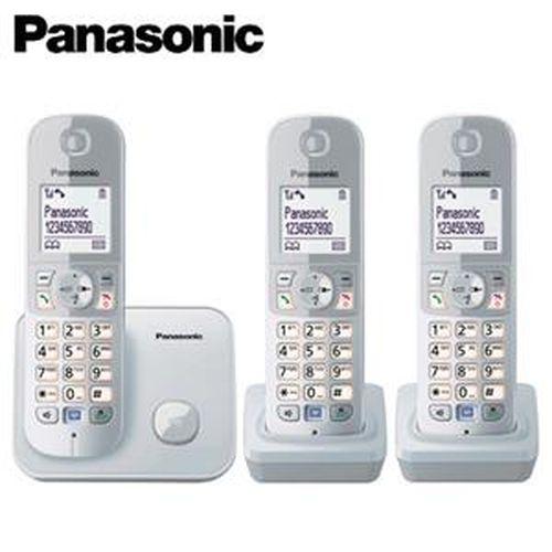 Panasonic 國際牌 KX-TG6813 繁體中文數位3手機無線電話 銀