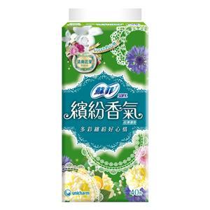 蘇菲 繽紛香氣 清爽花果 超薄護墊 (40PX8包)/組 #6312