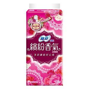 蘇菲 繽紛香氣 甜心玫瑰 護墊 (40pX8包)/組 #3311