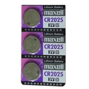 maxell 水銀電池 CR2025 1顆裝