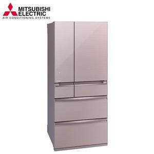 三菱705L日本原裝變頻六門電冰箱MRWX71Y(P水晶粉)