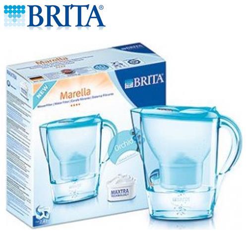 德國BRITA濾水壺(花漾壺-蘭花藍)