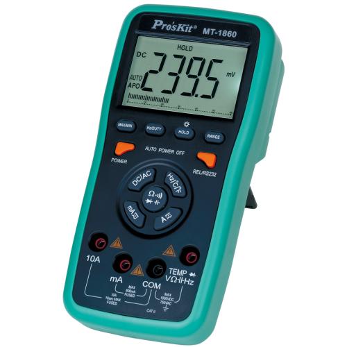 Pro'sKit 3 5/6 USB連線型自動數字萬用錶 MT-1860
