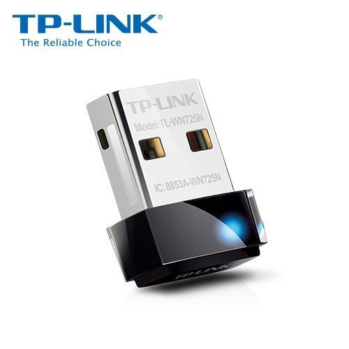 TP-LINK TL-WN725N 11n 150M USB 拇指型無線網卡【11月精選特惠 現省 60】