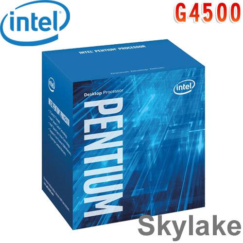 Intel英特爾 Pentium G4500 中央處理器