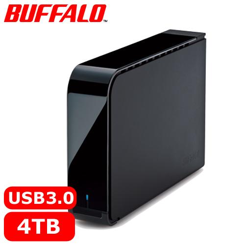 BUFFALO 3.5吋 4TB 72R 外接硬碟 HD-LX4.0TU3-TW【下殺79折↘送行動電源】