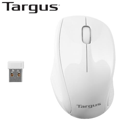 Targus 泰格斯 W571 光學無線滑鼠 白