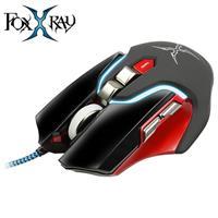 FOXXRAY 狐鐳 FXR~SM~05 金剛獵狐光學電競滑鼠 黑