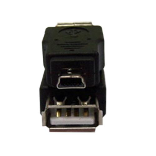 USB A母轉迷你5P公 轉接頭