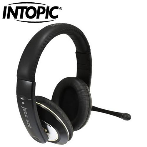 INTOPIC 廣鼎 JAZZ-520 頭戴式耳機麥克風