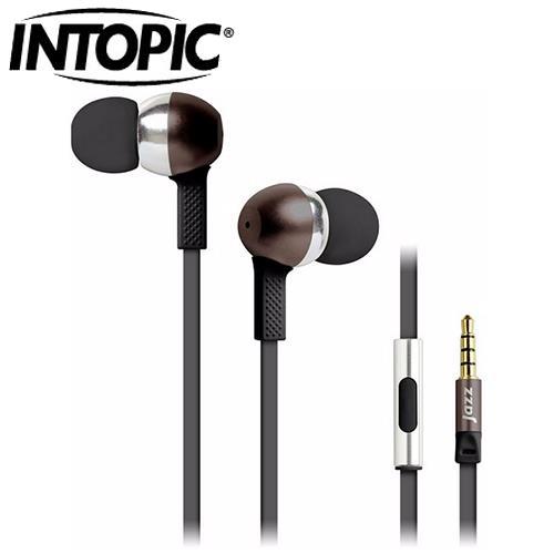 INTOPIC 廣鼎 JAZZ-I58 全功能型鋁合金耳機麥克風 咖啡