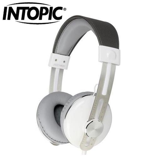 INTOPIC 廣鼎 JAZZ-M600 音樂耳機麥克風 白