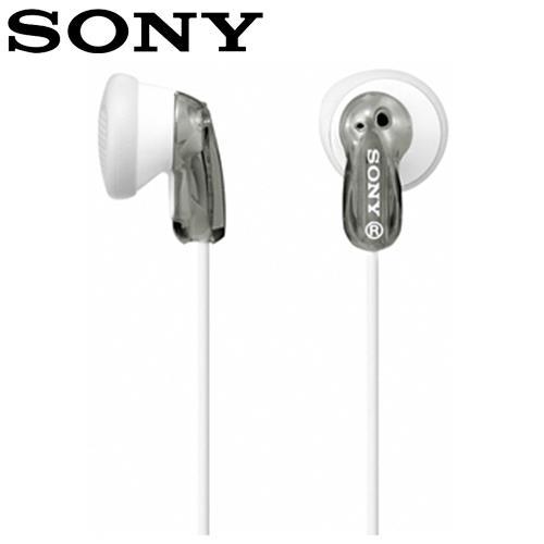 SONY 索尼 MDR-E9LP 繽紛多彩立體聲耳塞式耳機 灰