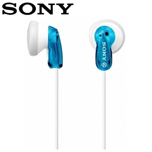 SONY 索尼 MDR-E9LP 繽紛多彩立體聲耳塞式耳機 藍
