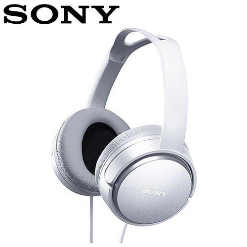 SONY 索尼 XD150 立體聲耳罩式耳機 白