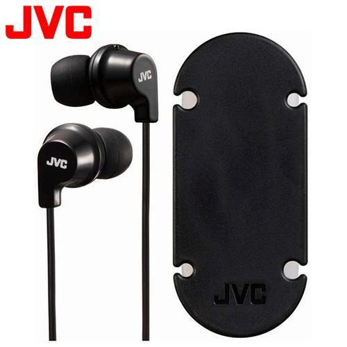 JVC HA-FX19 吸盤式捲線器耳道式耳機 黑